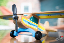 Load image into Gallery viewer, Vintage Fisher-Price #704 Wood Airplane Kit - Wood Wood Toys Canada's Favourite Montessori Toy Store