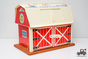 Vintage Fisher Price #915 Play Family Farm Barn (Circa 1985) - Wood Wood Toys Canada's Favourite Montessori Toy Store