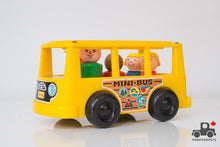 Load image into Gallery viewer, Vintage Fisher Price Play Family Mini Bus #141 - Wood Wood Toys Canada's Favourite Montessori Toy Store