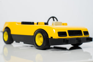 Vintage Playmobil 3524 Yellow Car (Partial set) - Wood Wood Toys Canada's Favourite Montessori Toy Store