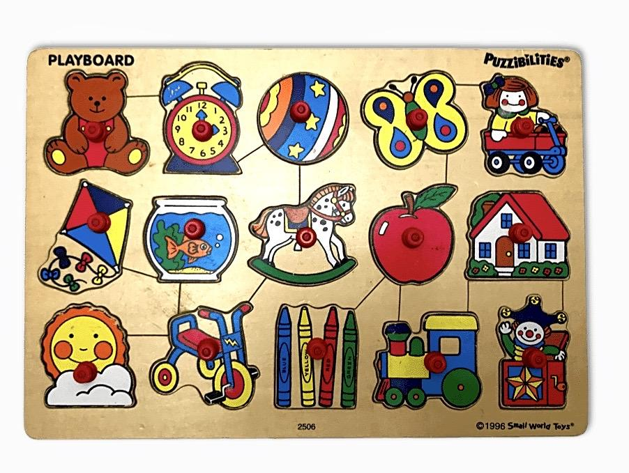 Vintage Puzzibilities Puzzle by Small World Toys - Wood Wood Toys Canada's Favourite Montessori Toy Store