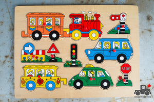 Vintage Puzzles - Unknown Manufacturer - Wood Wood Toys Canada's Favourite Montessori Toy Store