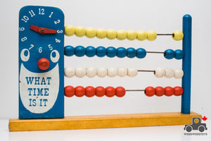 Vintage Time Counting Abacus - Wood Wood Toys Canada's Favourite Montessori Toy Store