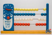 Load image into Gallery viewer, Vintage Time Counting Abacus - Wood Wood Toys Canada's Favourite Montessori Toy Store