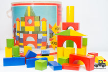 Load image into Gallery viewer, Vintage Tofa Wooden Block Set - Made in Czechoslovakia - Wood Wood Toys Canada's Favourite Montessori Toy Store