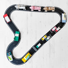 Load image into Gallery viewer, Waytoplay Flexible Roads - Grand Prix (24 pieces) - Wood Wood Toys Canada's Favourite Montessori Toy Store