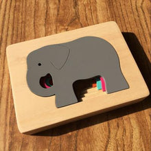 Load image into Gallery viewer, Wood Wood Exclusive Animal Puzzles - Wood Wood Toys Canada's Favourite Montessori Toy Store