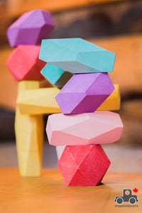 Wood Wood Exclusive Balance Blocks by Avdar - Wood Wood Toys Canada's Favourite Montessori Toy Store