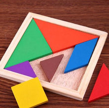 Load image into Gallery viewer, Wood Wood Exclusive Geometric Tangram Puzzle - Wood Wood Toys Canada's Favourite Montessori Toy Store
