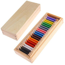 Load image into Gallery viewer, Wood Wood Exclusive Montessori Colour Card Boxes - Wood Wood Toys Canada's Favourite Montessori Toy Store