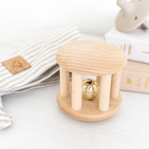 Wooden Bell Cylinder Roller Toy by Legacy Learning Academy - Wood Wood Toys Canada's Favourite Montessori Toy Store