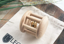 Load image into Gallery viewer, Wooden Bell Cylinder Roller Toy by Legacy Learning Academy - Wood Wood Toys Canada's Favourite Montessori Toy Store