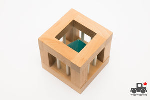 Wooden Rattle - The Cell Brain Teaser - Wood Wood Toys Canada's Favourite Montessori Toy Store