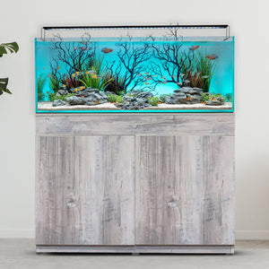 Current Serene 65 Aquarium Complete Setup W/ Manzanita Aquascape - AQUAPROS