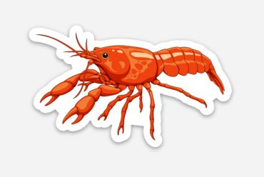 Dwarf Crayfish Sticker/Magnet/Cling - AQUAPROS