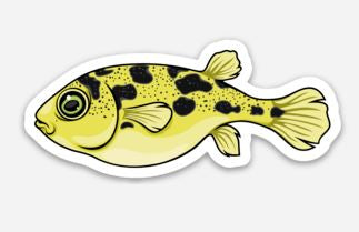 Pea Puffer Sticker/Magnet/Cling - AQUAPROS