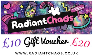 Gift voucher - RADIANT CHAOS CLOTHING