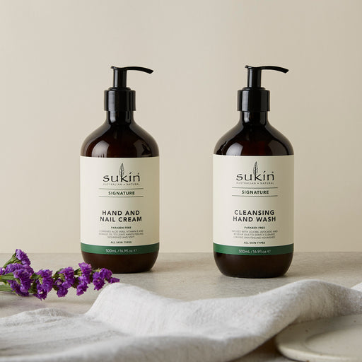 Sukin's Guide To Hand Washing