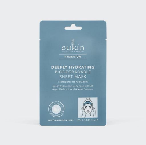 Deeply Hydrating Biodegradable Sheet Mask | Hydration 25ml