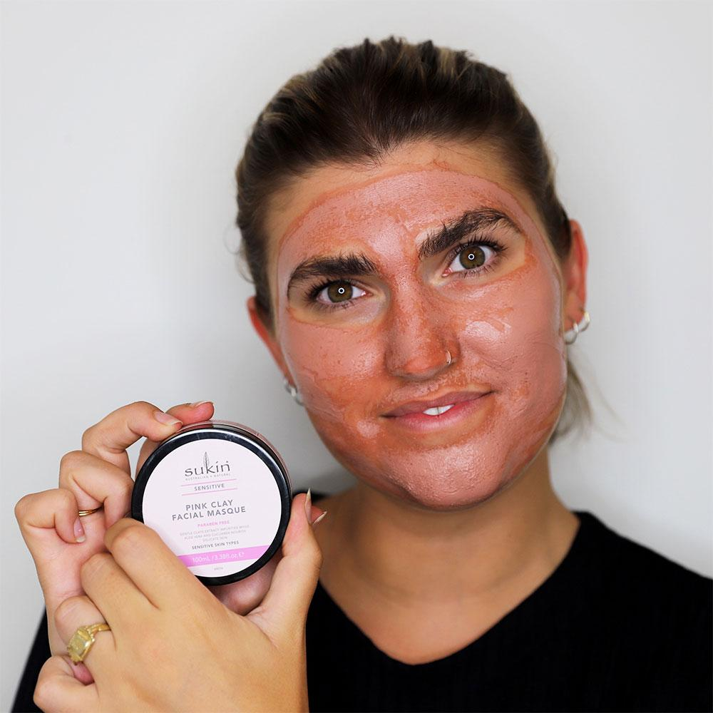 Pink Clay Facial Masque | Sensitive 100ml