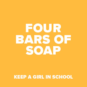 4 x bars of soap