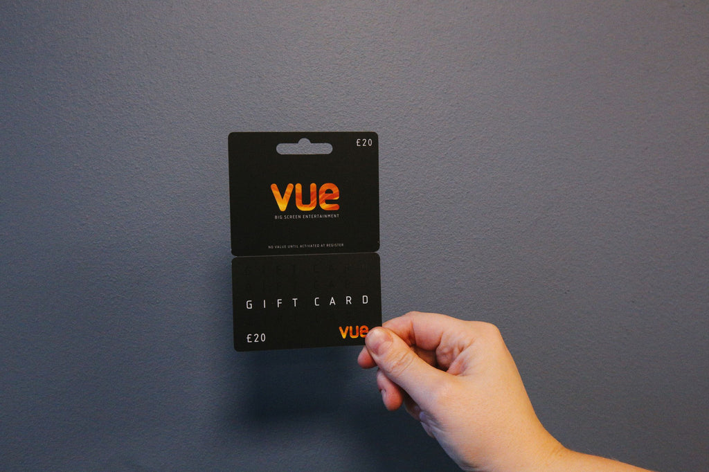 Vue Cinema Gift Voucher