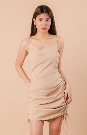 Yanna Dress - Rust