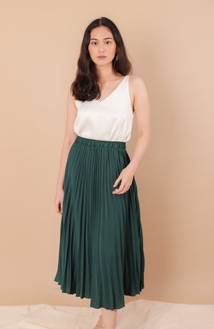 Phoebe Pleated Skirt
