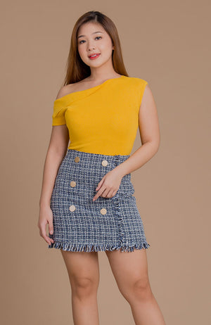 Rissa Tweed Skirt