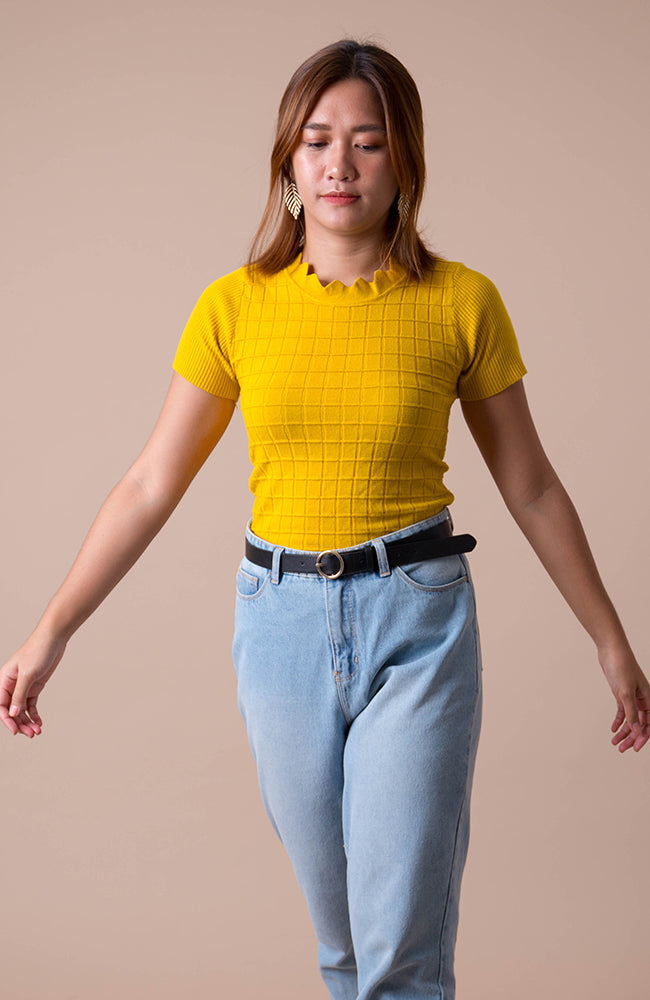 Carrie Knit Top