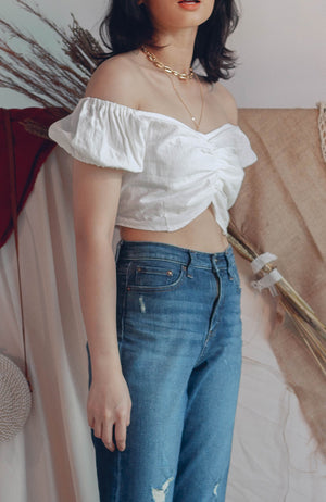Harper Linen Top