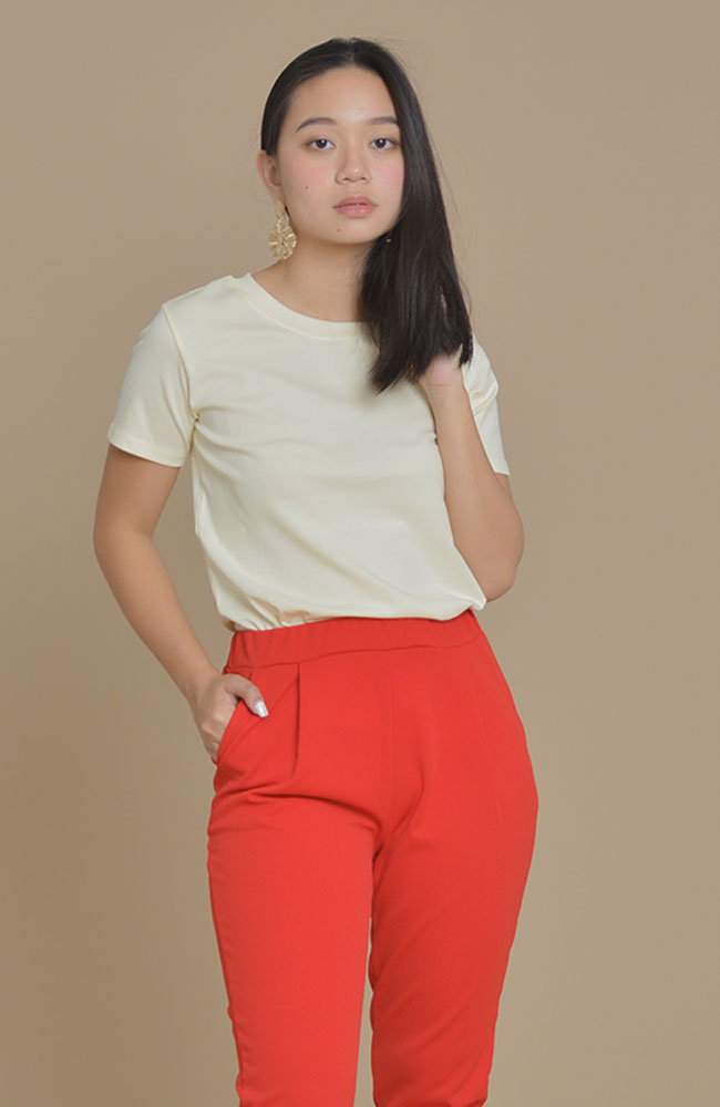 Topshop Overrun Basic Tee (color option)