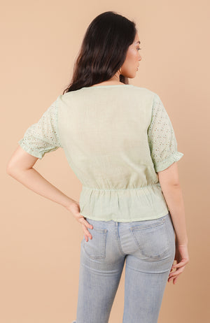 Ronnie Eyelet Top
