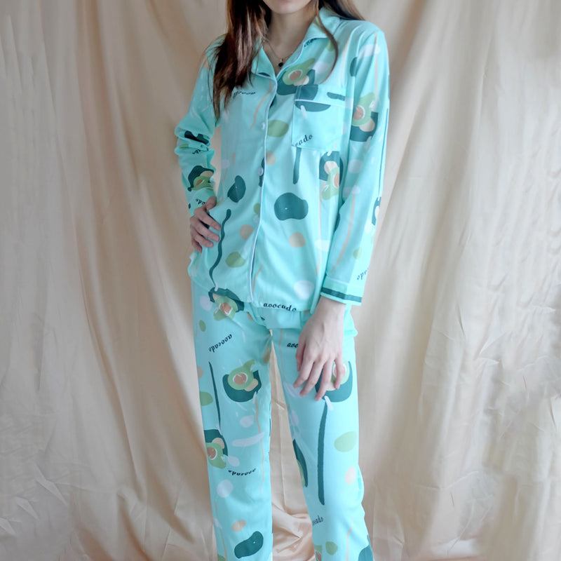 Cotton Sleepwear - Avocado