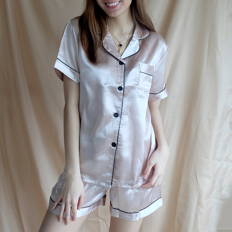 Silk Sleepwear - Rose Gold