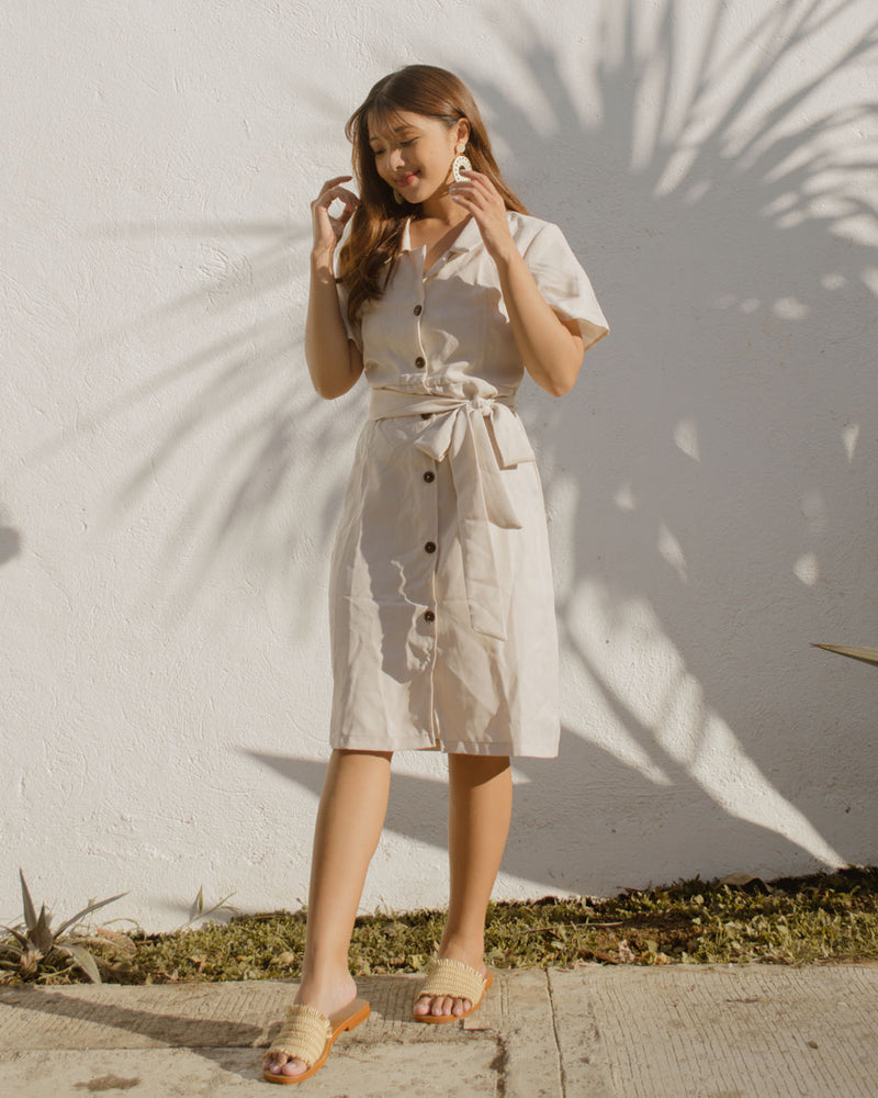 Regine Button-down Dress