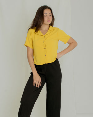 Chloe Button-down Top (color option)