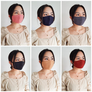 Neoprene Face Mask with Filter (set of 3)