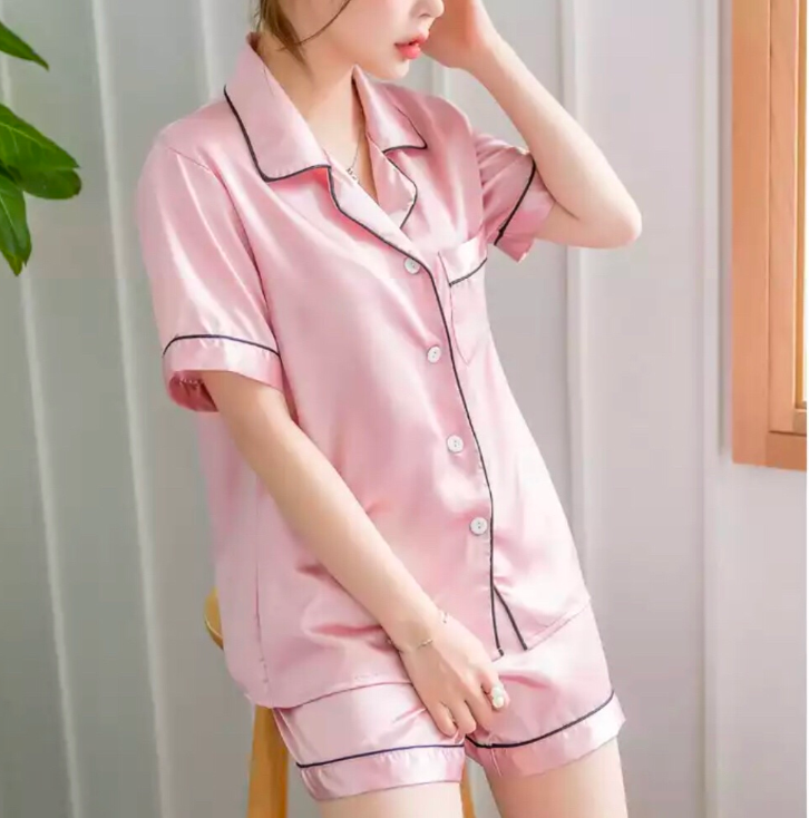 Silk Sleepwear - Pink
