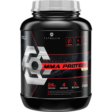Load image into Gallery viewer, Tatsujin MMA Protein: 1.8kg / 4lbs - 24g Protein / 4 sources - 7g BCAA - Multivitamins 25% RI - Gluten Free