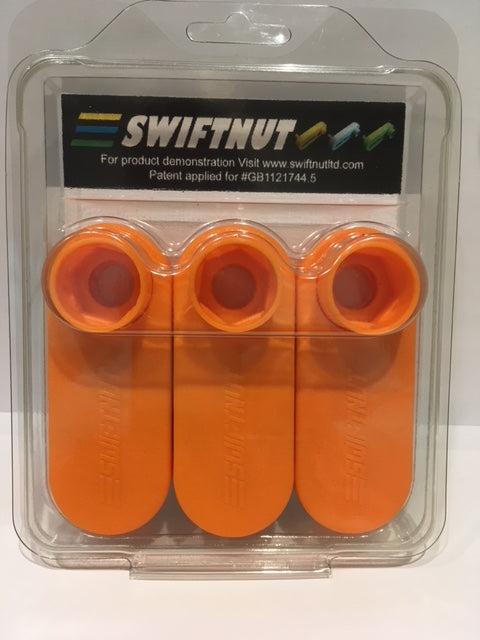 SWIFTNUT Nut-Runners, Pack of 3 - for 12mm (M12) Nuts