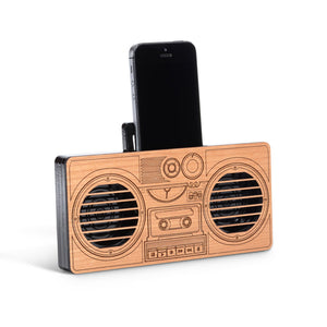 Retro Boombox Phone Amp