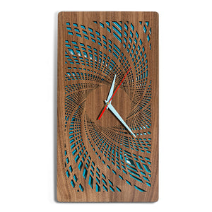 Crashing Waves Spiral Clock