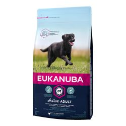 EUKANUBA Active Adult Large Breed rich in fresh chicken
