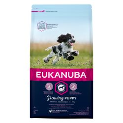 EUKANUBA Growing Puppy Medium Breed Rich In Fresh Chicken