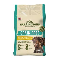 Harringtons Grain Free Hypoallergenic Turkey