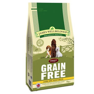 James Wellbeloved Dog Adult Grain Free Lamb & Vegetables