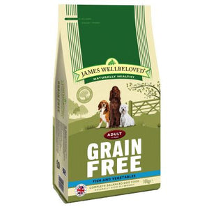 James Wellbeloved Dog Adult Grain Free Fish & Vegetables