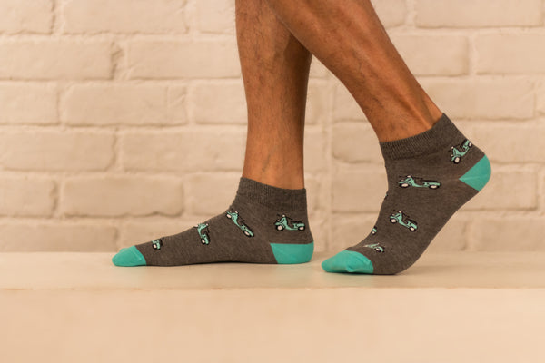 SCOOT-OVER ANKLE - Mint & Oak