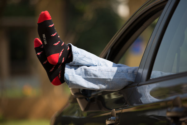 Ankle car mens socks